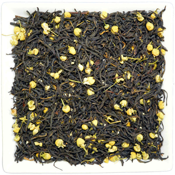 Chamomile Earl Grey, Flavoured Black Tea - GROENSBJERG TEHANDEL