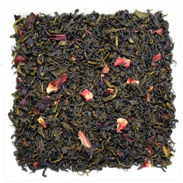 Pomegranate Green Tea, Flavoured Green Tea - GROENSBJERG TEHANDEL