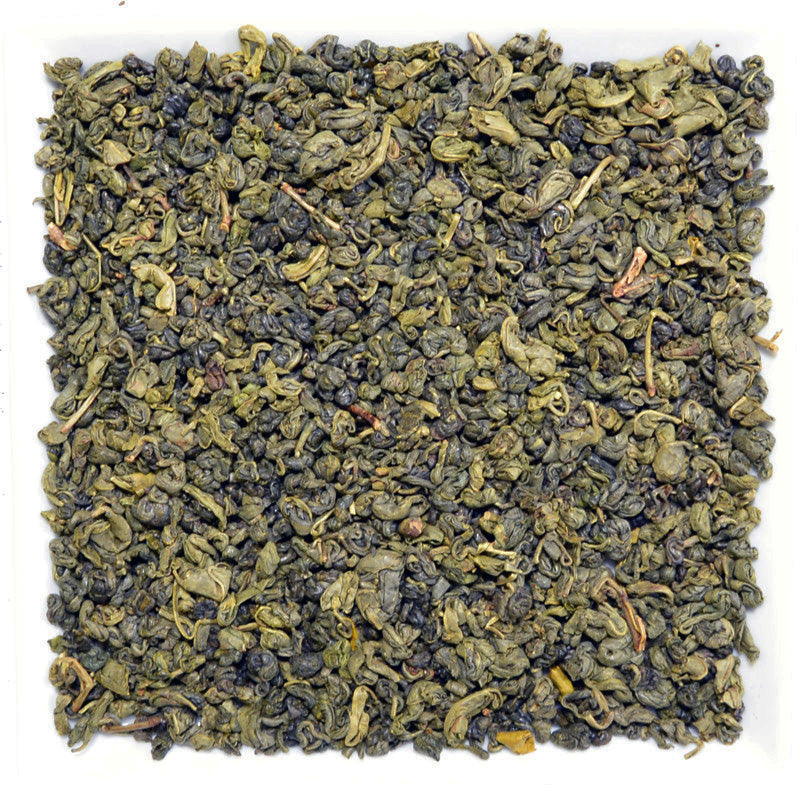 China Gunpowder -Organic-, Green Tea - Pure - GROENSBJERG TEHANDEL