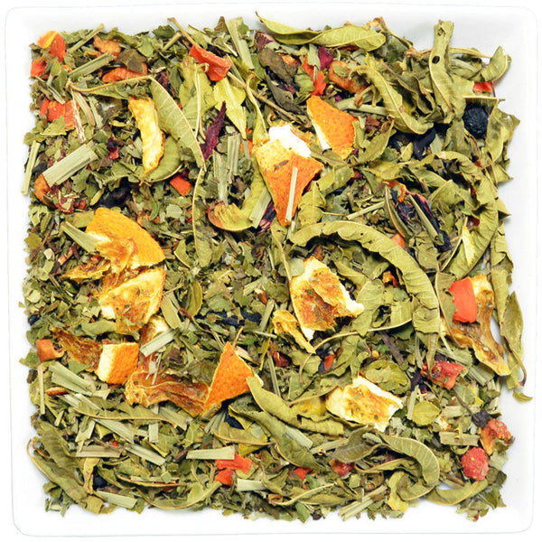 Pineapple/Peach Herbal Tea, Herbal Teas - GROENSBJERG TEHANDEL