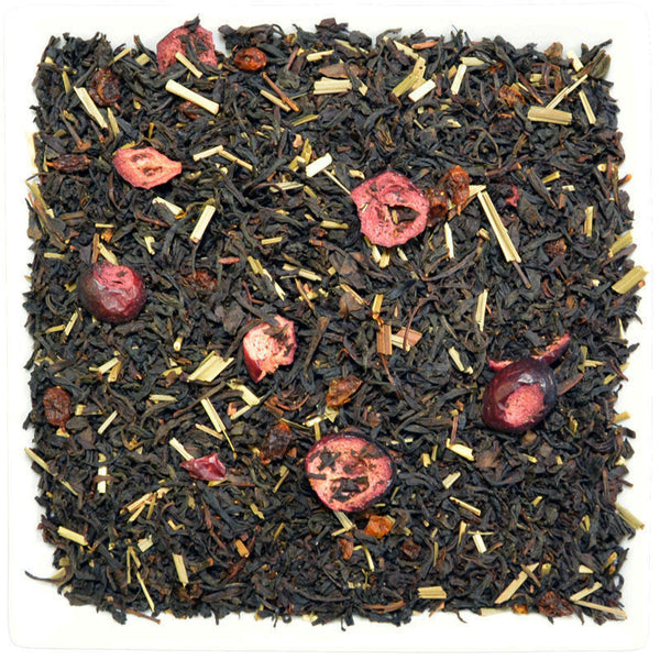 Sea Buckthorn Cranberry Black, Flavoured Black Tea - GROENSBJERG TEHANDEL