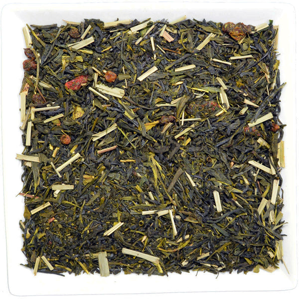 Sea Buckthorn Goji Green, Flavoured Green Tea - GROENSBJERG TEHANDEL