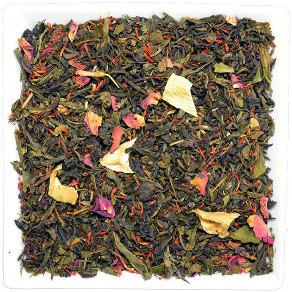 Eight Secrets from the Far East, Flavoured Green Tea - GROENSBJERG TEHANDEL