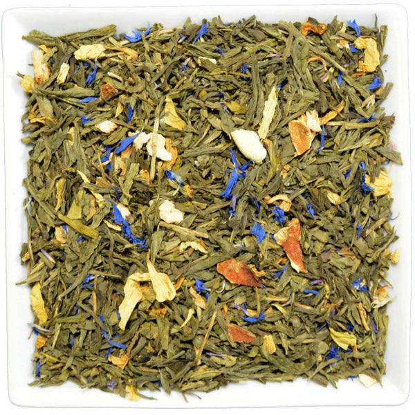 Sencha Lemon Decaf, Flavoured Green Tea - GROENSBJERG TEHANDEL