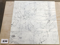 Statuario White 12x12 Polished Marble Field Tile