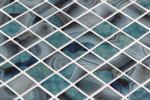 Vanguard Borneo Glass Pool Tile 12.25 x 18.25 Tilezz