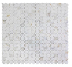 Calacatta Gold Octagon Mosaic Polished /Honed