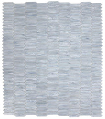 Arrow Grey Picket Glass Mosaic ( Pool Rated )
