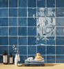 Image of St. Tropez Azul 5x5 Ceramic Wall Tile Tilezz