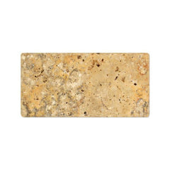 Scabos Travertine 3x6 Tumbled Subway Tile