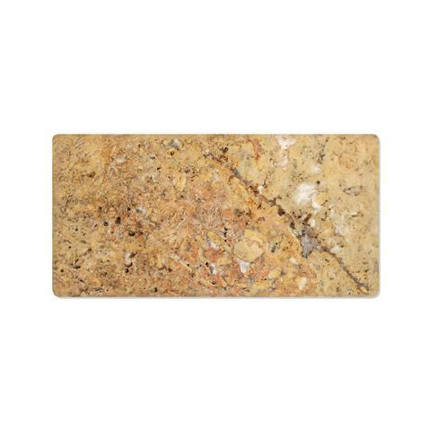 Scabos Travertine 3x6 Tumbled Subway Tile Stone Tilezz