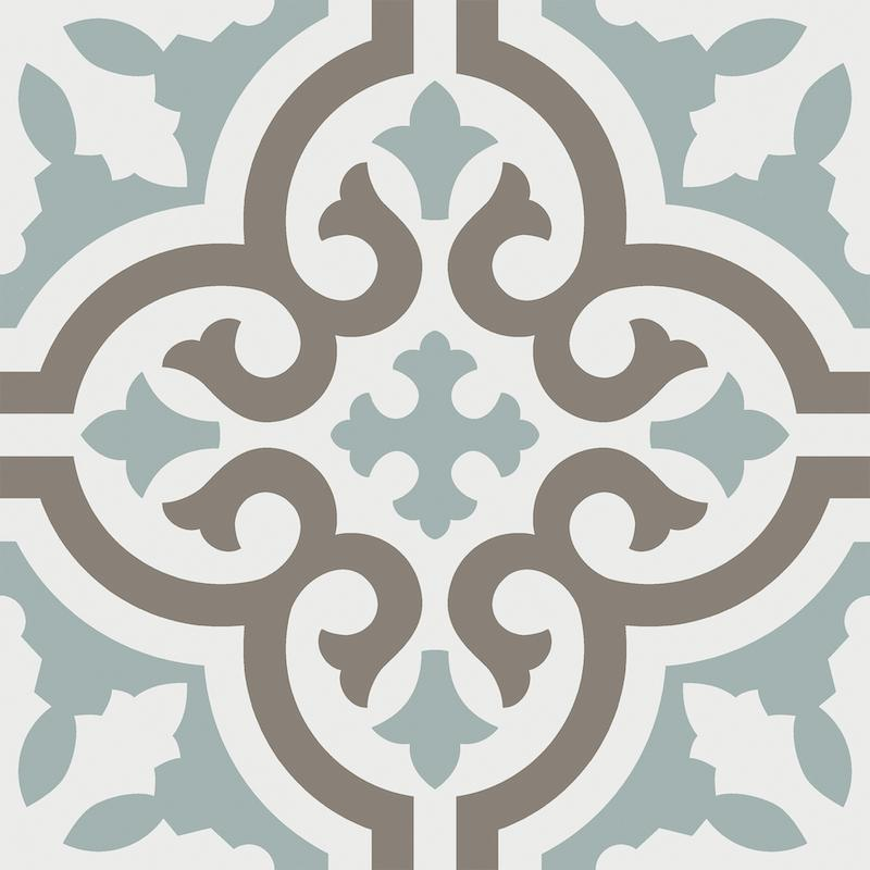 Casablanca Aqua 8x8 Porcelain Tile Sample Tilezz