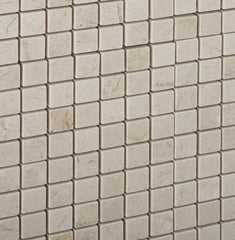 Crema Marfil 5/8x5/8 Polished  Mosaic Tile