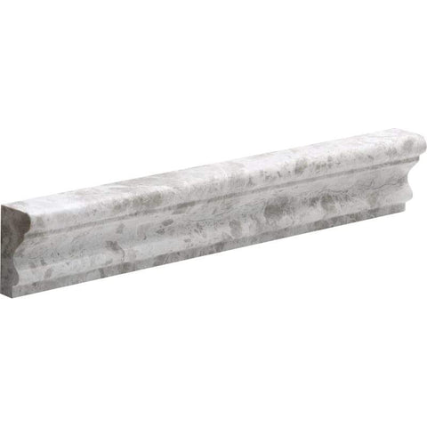 Tundra Gray Marble Chair Rail Molding Polished Stone Tilezz