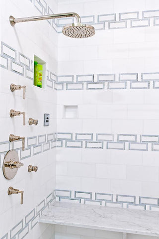 Thassos White 6x12 Subway Tile Polished /Honed Stone Tilezz