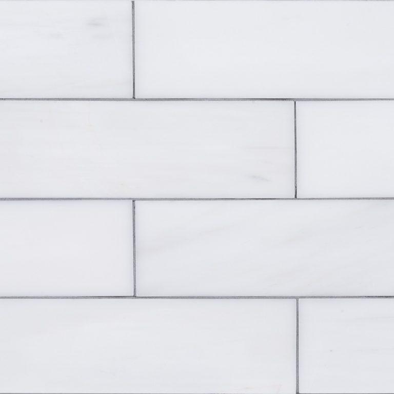 Bianco Dolomite 2x8 Polished Subway Tile Tilezz