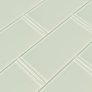 Arctic Ice 3x6 Glass Subway Tile Tilezz