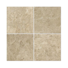 Cappuccino 12x12 Polished Marble Field Tile