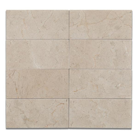 Crema Marfil 3x6 Polished Subway Tile Stone Tilezz