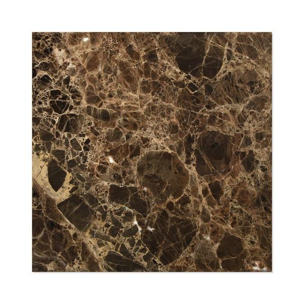 Emperador Dark 12x12 Marble Polished Field Tile Stone Tilezz