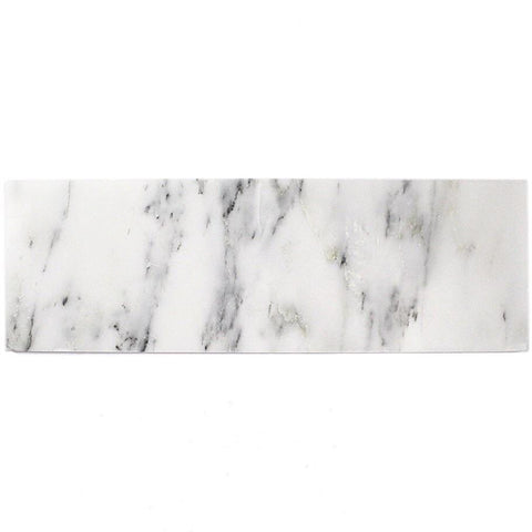 Calacatta Cressa(Asian Statuary) 4x12 Subway Tile Polished/Honed Stone Tilezz