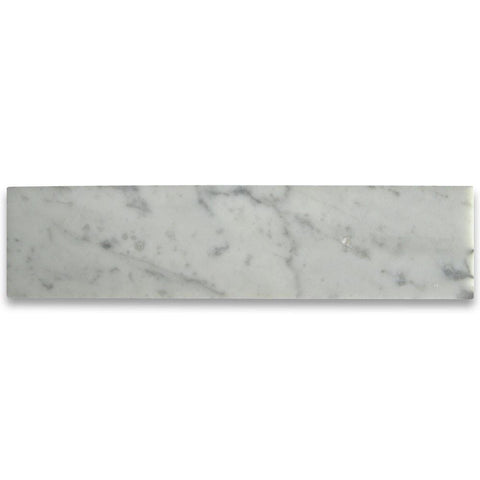 Carrara White 2x8 Subway Tile Polished/Honed Stone Tilezz