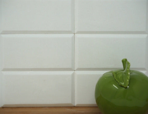 Thassos 3x6 Beveled Subway Tile Polished/Honed Stone Tilezz