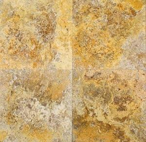 Scabos Travertine 18x18 Honed Field Tile