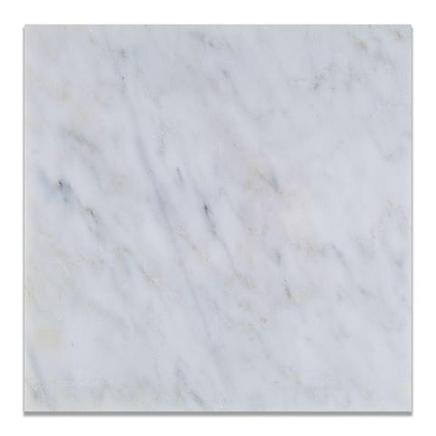 Calacatta Cressa (Asian Statuary) 12x12 Marble Field Tile Polished & Honed