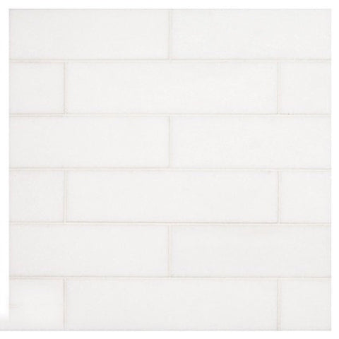 Thassos White 2x8 Subway Tile