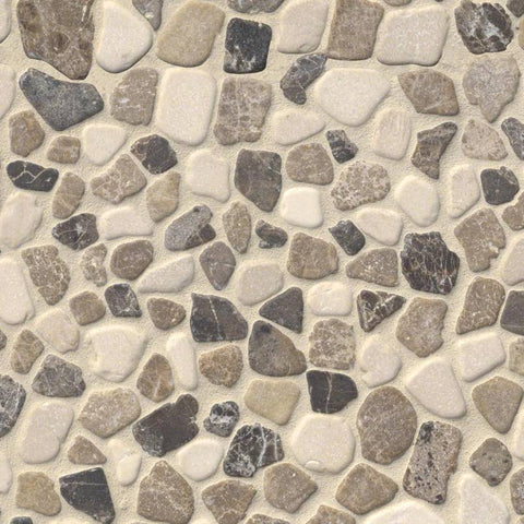 Mix Marble Pebbles Tumbled Tilezz