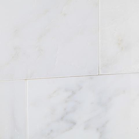 Calacatta Nuevo ( Carrara Bella ) 3x6 Subway  Honed Or Polished Tile