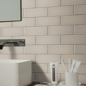 Pebble 3x6 Glass Subway Tile Tilezz