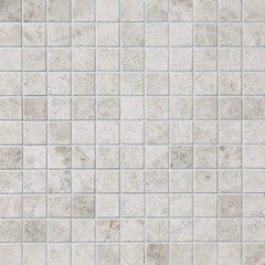 Tundra Gray Marble 1x1 Mosaic Polished/Honed Stone Tilezz