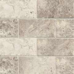Tundra Gray Marble 3x6 Subway Tile Polished & Honed Stone Tilezz
