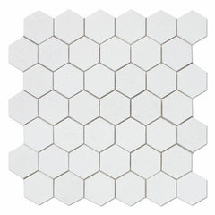 Thassos White Hexagon 2