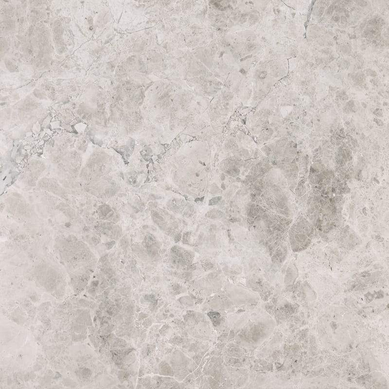 Tundra Gray Marble 18x18 Field Tile Polished & Honed Stone Tilezz
