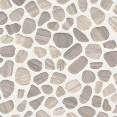 White Oaks Pebbles Tumbled Tilezz