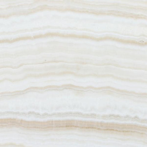 White Onyx Vein Cut 12x12 Polished Field Tile Stone Tilezz