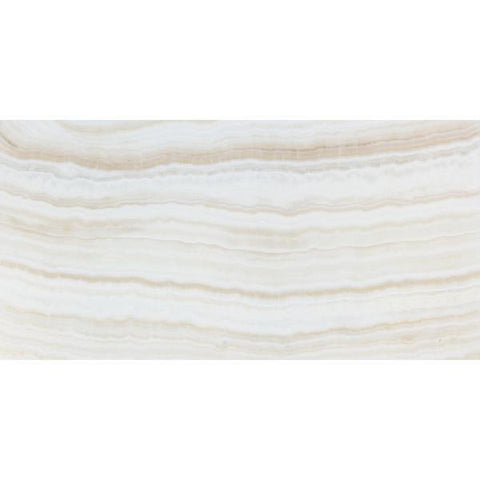 White Onyx Vein Cut 12x24 Polished Field Tile Stone Tilezz