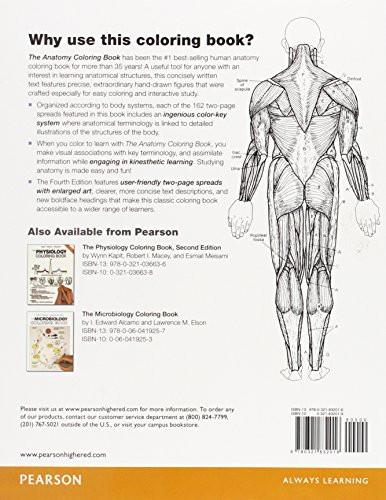 Anatomy coloring book 5th edition : Collections u2013 COMEGOBOOKS
