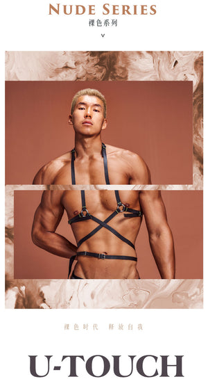 LEATHER-LEATHER BODY HARNESS