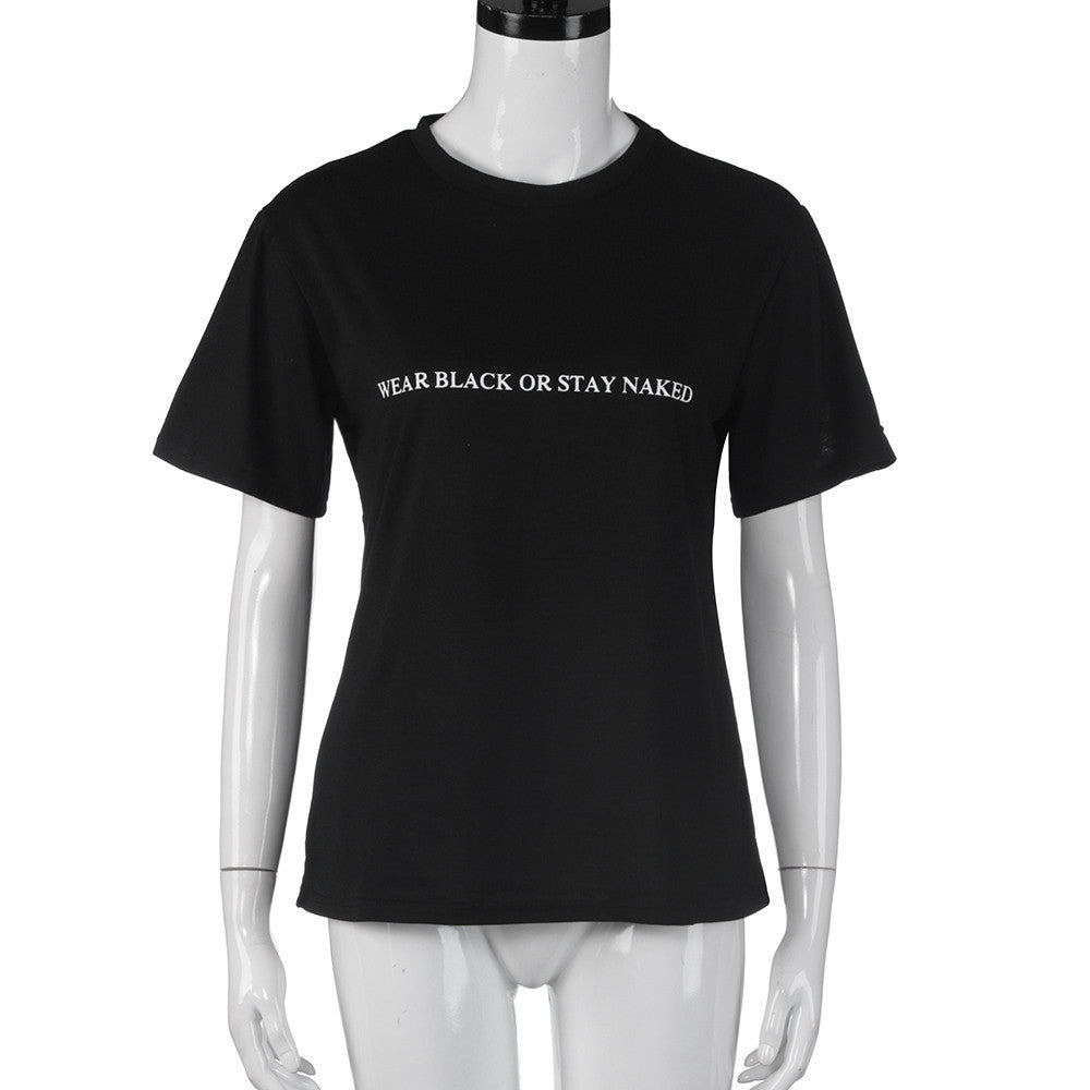 'Wear Black' Tee - dobdob