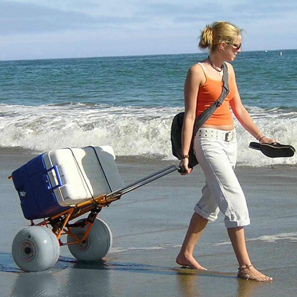 All Terrain Collapsible Beach Cart - dobdob