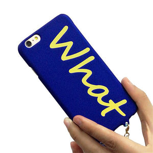 "'What the..."" iPhone cover"
