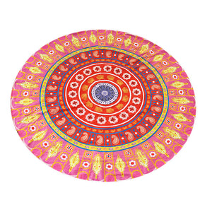 Round Summer Beach Towel - dobdob