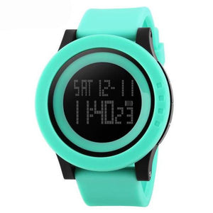 Rubber Band Digital Sport Watch - dobdob