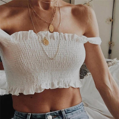 Bow Bandage Halter Top