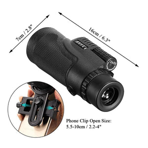 12X Phone Telescope HD with Tripod - dobdob