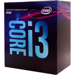 INTEL CORE I3 8100 3.6GHZ 4C/4T 65WTDP GEN8
